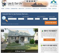 LakeStClairLife.com screenshot