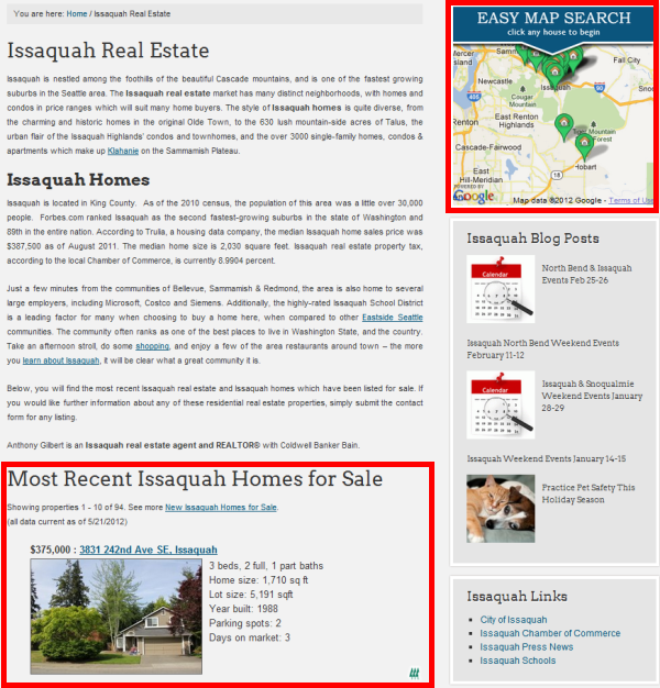 Issaquah Real Estate
