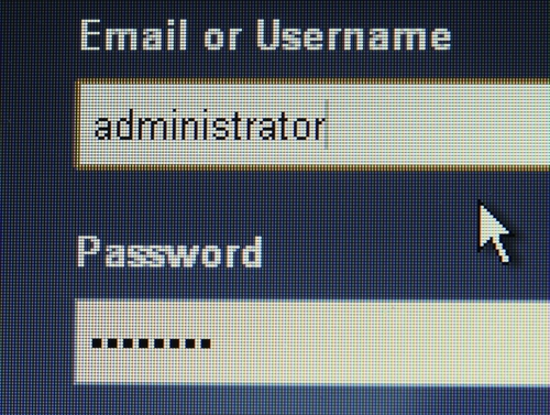 admin isn't your name! change that username!