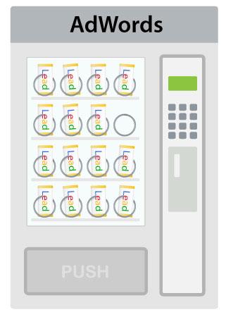idx leads vending machine