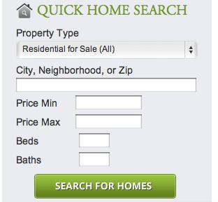 Custom Quick Search Module